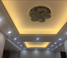 Thi công hoàn thiện trần và đèn đẹp chung cư HouSinCo