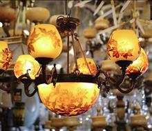 Đèn chùm pha lê Hương Fale