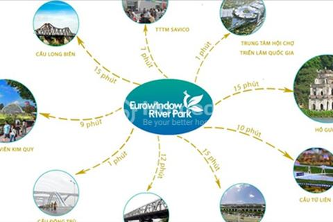 Chung cư Eurowindow River Park cao cấp, cùng quà tặng khủng lên đến 200 triệu