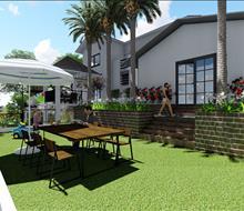 Thiết kế sân vườn biệt thự Quảng Ninh