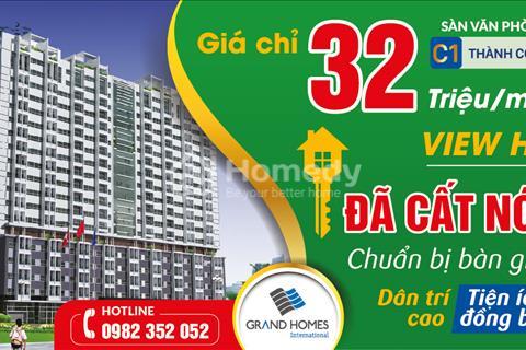 Bán căn hộ trung tâm quận Ba Đình diện tích 64,8m2 tầng 8 tại chung cư C1 Thành Công