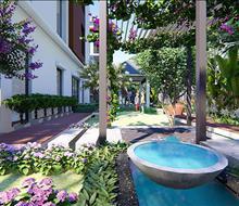 Thiết kế sân vườn biệt thự Gamuda