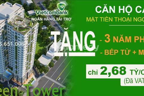 Chủ đầu tư mở bán đợt 2 Căn hộ Res Green Tower, Thoại Ngọc Hầu, Âu Cơ giá chỉ từ 30 triệu/m2