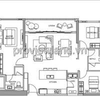 Chủ nhà thiếu nợ cần bán căn hộ Gateway Thảo Điền, 3 phòng ngủ, 121m2 tầng cao, giá chỉ 7.2 tỷ