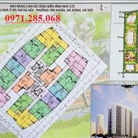 Bán gấp chung cư CT2 Yên Nghĩa căn 1610 tòa CT2 diện tích 90.59m2, giá 11.5tr/m2