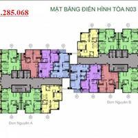 Gia đình tôi bán gấp chung cư K35 Tân Mai căn 1003 tòa N03B, diện tích 92m2, giá 21.5tr/m2