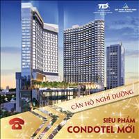 Bán Condotel Trí Đức Hạ Long, giá 2.4 tỷ/căn, 40m2, đối diện công viên Sun World
