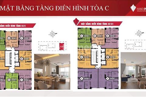 Cần bán cắt lỗ căn góc có ban công dự án Chung cư Paragon Tower Cầu Giấy