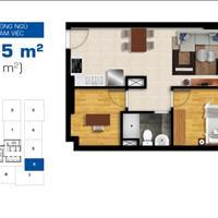 Chính chủ bán suất thương mại chung cư Bộ Công An, quận 2 giá 2.55 tỷ, 2 phòng ngủ