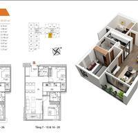 Bán căn hộ 3 phòng ngủ, tiến độ đóng tiền giãn 2 năm, Vietinbank cho vay