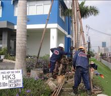 Khảo sát công trình Khu dân cư phức hợp Thủ Thiêm