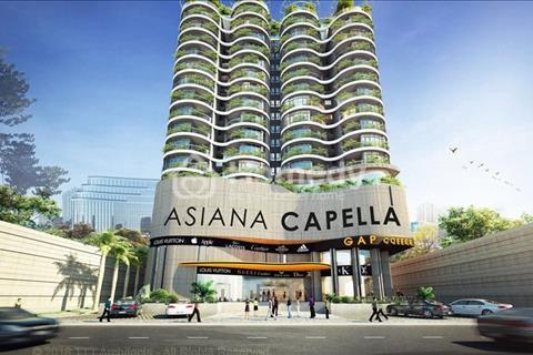 Nhanh tay đặt chỗ căn hộ Asiana Capella cao cấp giá siêu hấp dẫn chỉ từ 25 triệu/m2
