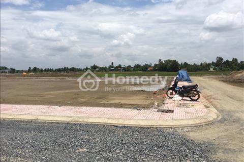 Cần bán gấp 347m2 tại Long An, 100% đất thổ cư, mặt tiền quốc lộ 50, giá 980 triệu, sổ hồng riêng