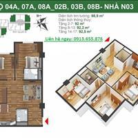 Nhanh tay nhận ngay nhà ở trong tháng 11 với giá 23.5 triệu/m2 tại dự án K35 Tân Mai