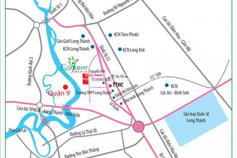 Chính Thức Ra Mắt Eco Town City Long Thành, Đất vàng đầu tư,An cư lập nghiệp