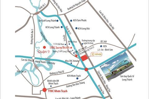 Cơ hội đầu tư Central Mall – cổng vào sân bay Long Thành, còn 5 suất nội bộ, ck 10%.