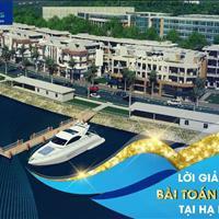 Cơ hội đầu tư Shophouse Marina mặt cảng quốc tế Tuần Châu, Hạ Long với 36tr/m2, CK 7%, lãi suất 0%