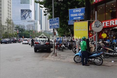 Bán nhà cấp 4 ngõ 10 Trần Duy Hưng, Cầu Giấy, 100m2, mặt tiền 5.2 mét, kinh doanh