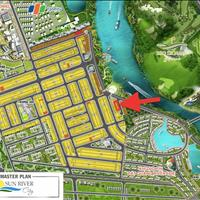 Khu đô thị số 4-sun river city: mở bán 7 nền suất ngoại giao view sông cổ cò,chỉ 870 triệu/nền
