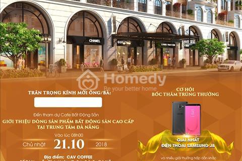 Đất Xanh Đà Nẵng mở bán shophouse 2 mặt tiền sông Hàn với nhiều ưu đãi