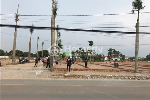 Bán đất mặt tiền thổ cư 100%, sổ hồng riêng, xây tự do, hạ tầng hoàn thiện chỉ 10 triệu/m2