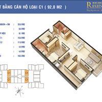 Tôi bán căn 92m2 giá 27 triệu/m2 chung cư Golden West Lê Văn Thiêm
