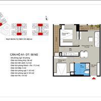 Bán căn hộ Mỹ Đình 58m2 đủ đồ giá 1,2 tỷ dự án Hateco Apollo