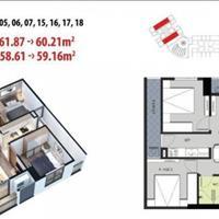 Bán căn hộ Mỹ Đình 1,3 tỷ bàn giao full nội thất, quần thể lớn, chuỗi tiện ích