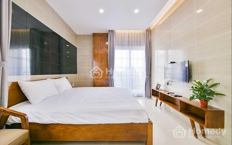 Căn hộ dịch vụ Phú Nhuận mới 100%, đầy đủ tiện ích, full nội thất, dọn vệ sinh hàng tuần