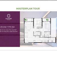 Bán căn hộ Diamond 88.8m2 – A3.11.06 – 2 phòng ngủ, giá 4 tỷ