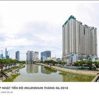 Cho thuê căn hộ chung cư 3 phòng ngủ Millennium Quận 4