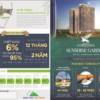 Tặng 140 triệu tại dự án Sunshine Garden Hai Bà Trưng, Hà Nội, giá từ 30.9 triệu/m2 căn 44 - 135m2