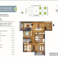 Bán cắt lỗ căn hộ cao cấp Sky Park Residence - số 3 Tôn Thất Thuyết - căn góc 3 phòng ngủ