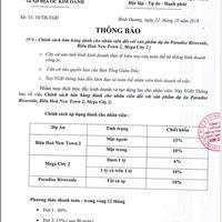 Đất mặt tiền Nhơn Trạch, giá chỉ với 460 triệu, giảm ngay 6-10% tổng giá trị hợp đồng