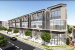 Các căn nhà phố được xây dựng theo quy chuẩn, hiện đại với 3 tầng trong đó 1 trệt và 2 lầu với đa dạng các loại diện tích từ 70m2 đến 120m2.