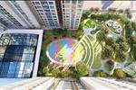 Các căn hộ đều có mặt thoáng dài rộng hướng ra công viên hồ điều hòa hoặc khu dân cư kề bên.