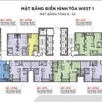 Cần bán căn 1 phòng ngủ, tầng 25, tòa W1 dự án Vinhomes West Point Phạm Hùng