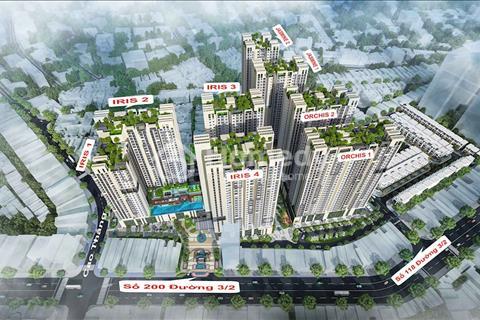 Suất nội bộ, căn hộ cao cấp Hado Centrosa, mặt tiền đường 3/2, phòng kinh doanh chủ đầu tư