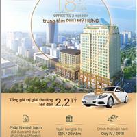 Officetel 3 mặt tiền ngay tại trung tâm Phú Mỹ Hưng