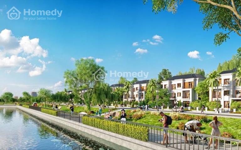 Đất nền biệt thự Đà Nẵng, 2 mặt tiền đường, view công viên, tặng 5 chỉ vàng khi giao dịch tháng 11