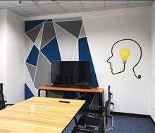 Vẽ tranh tường Văn phòng