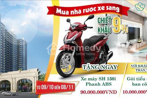 Anland 2 - Nam Cường, cạnh Aeon Mall Hà Đông - Chiết khấu lên đến 9%, tặng xe máy SH trị giá 90tr