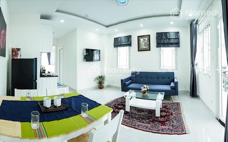 Cho thuê căn hộ dịch vụ 1 phòng ngủ, full nội thất, đường Trường Sa, Bình Thạnh, giá từ 14 tr/tháng