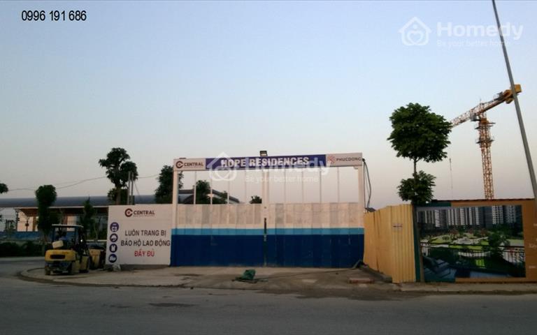 Nhanh tay sở hữu - Chỉ còn 5 suất nhà ở xã hội Hope Resdences - Phúc Đồng, Long Biên