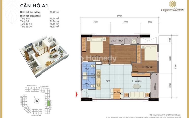 Cơ hội mua nhà ở xã hội cho tất cả mọi người, chỉ từ 16 triệu/m2 - Hope Residence
