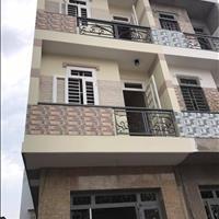 Bán căn nhà liền kề mặt tiền hẻm 8m diện tích 5x18m, 1 trệt 2 lầu sổ hồng riêng