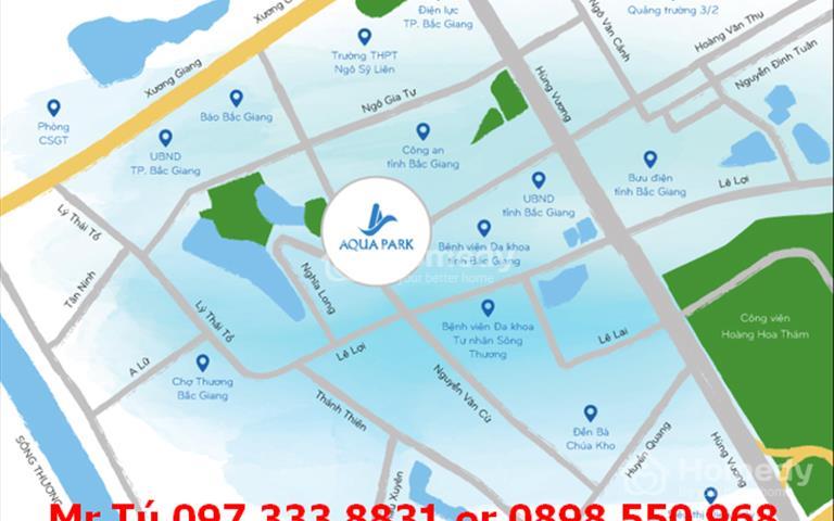 Chung cư Aqua Park Bắc Giang, bảng giá đợt 1 ngày 15/11, chiết khấu lên tới 11%