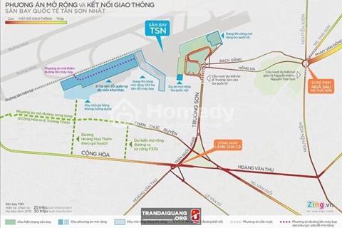 Quỹ đất lớn nhất quận Tân Bình và cuối cùng được xây dự án liền kề với sân bay Cộng Hòa Garden