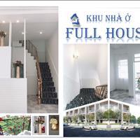Nhà ở Full House 800 triệu/căn, giá thật 100%, sổ riêng ngay chợ Bình Chánh