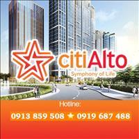 Căn hộ Citi Alto quận 2 – giá cực tốt chỉ 1 tỷ 450 triệu/căn 2 phòng ngủ - duy nhất 675 căn